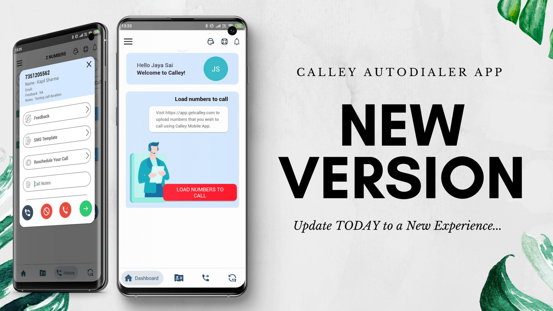 Launching New Version of Calley